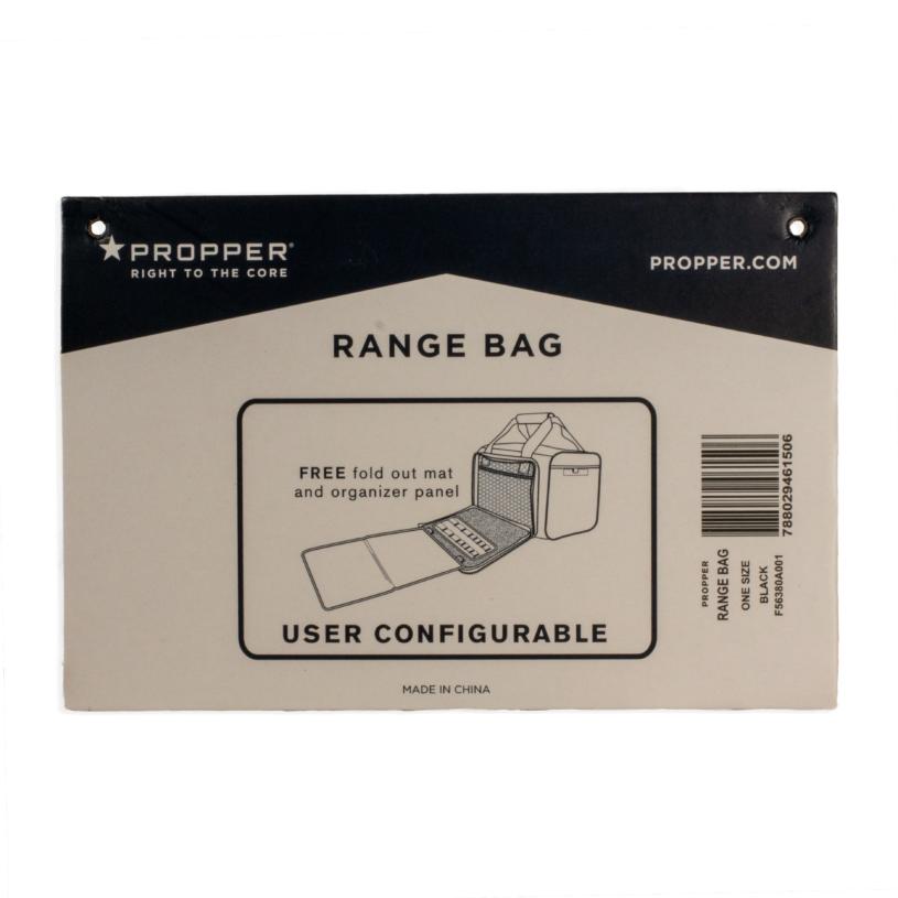 KSRA Propper Range Bag - Tag